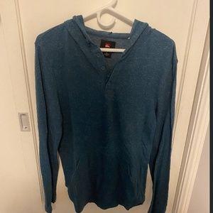 Quicksilver Blue Long Sleeve
